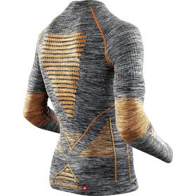 X-Bionic Accumulator Evo Melange - Ropa interior Hombre - gris/naranja